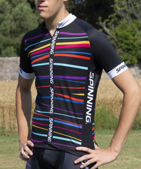 KAMET - S/S MULTICOLOURED JERSEY MAN