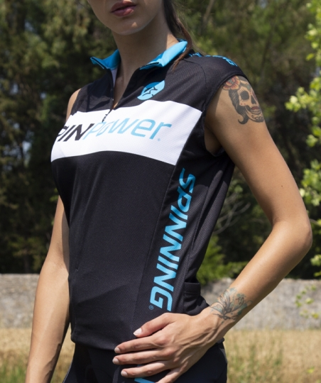 SPINPower® Jersey Manica corta woman